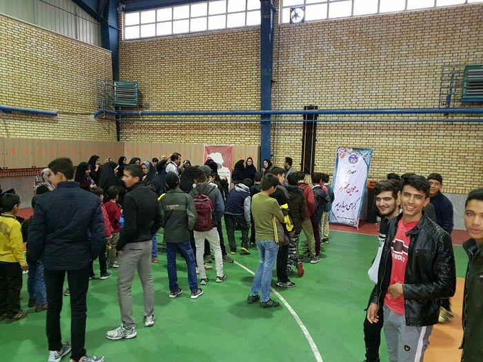 برگزاری اولین جشنواره استعدادیابی نوجوانان ۸ تا ۱۶ سال با همکاری پایگاه قهرمانی و استعدادیابی استان