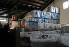 کشف کالای قاچاق در رفسنجان
