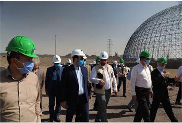 معاون اقتصادی وزارت کار بر تسریع فرایند اجرای پروژه سنگ آهن فولاد خراسان تاکید کرد