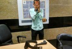 اسلحهکشی برای نشستن روی صندلی مترو در چهارراه ولیعصر (عج)