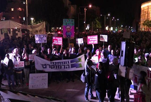 حمله پلیس به معترضان سیاستهای نتانیاهو در قدس اشغالی/ ببینید