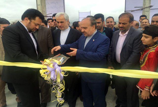 افتتاح ورزشگاه 15 هزار نفری بجنورد با حضور سلطانیفر