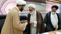 آیین تکریم و معارفه مسوول دفتر نمایندگی ولی فقیه در هلال احمر خوزستان برگزار شد+ببینید