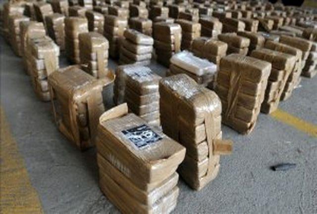 کشف و توقیف بیش از 500 کیلوگرم کوکائین