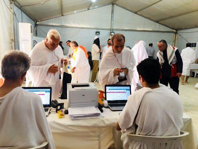 مراجعه بیش از ۲۰۰ زائر ایرانی به بیمارستانهای مستقر در صحرای عرفات