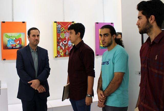برپایی نمایشگاه گرافیک 2 دانشآموز شیرازی