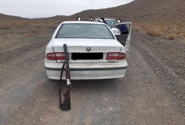 دستگیری چهار متخلف شکار پرندگان