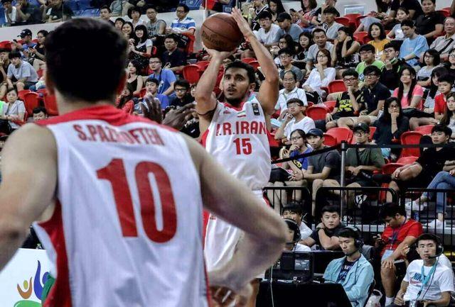 عضو تیم ملی بسکتبال 3 نفره: اختلاف ما با تیم قهرمان تنها 2 امتیاز بود
