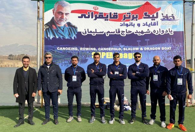 تیم یادآوران کارون خرمشهر نماینده خوزستان در لیگ برتر قایقرانی کشور