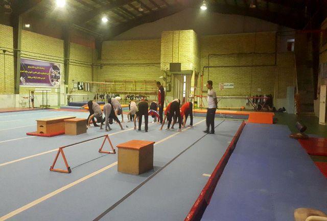 آغاز مرحله جدید اردوی تیم ملی ژیمناستیک هنری بزرگسالان در لرستان