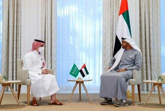وزیر خارجه عربستان با ولیعهد ابوظبی دیدار کرد