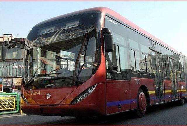 مسیر خط ۲ اتوبوسهای تندرو تغییر کرد