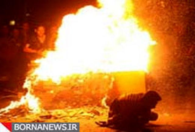 مصدومین 5 شیرازی در اثر انفجار ترقه های دست ساز