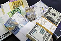 افزایش قیمت دلار و یورو  بانکی