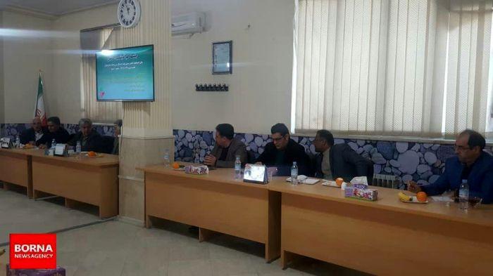 جلسه هم اندیشی صنفی انجمن تولید کنندگان شن و ماسه استان تهران
