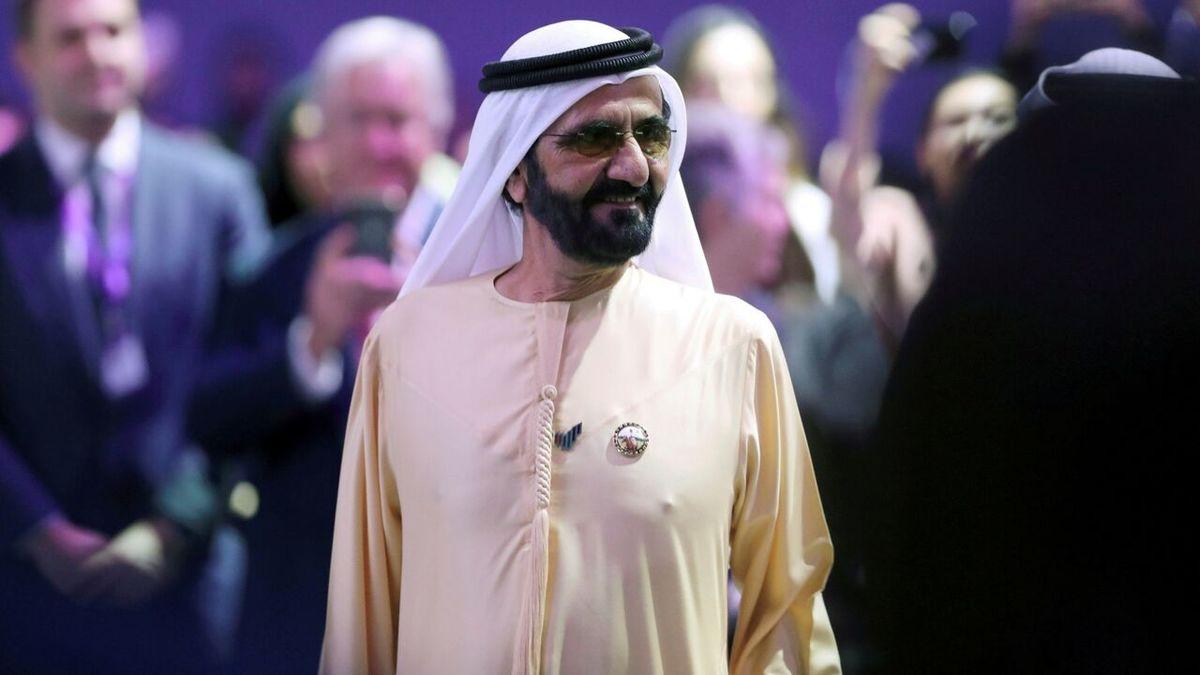 حاکم دبی به هک کردن گوشی همراه همسرش متهم شد