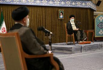 دیدار رییس و مسوولان قوه قضاییه با رهبر انقلاب