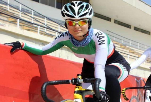 فروزان عبداللهی در گفتگو با خبرگزاری برنا: امیدوارم بتوانم اولین مدال پیست بانوان در آسیا را کسب کنم/ هر مسابقه برای دوچرخهسواران یک تجربه جدید است