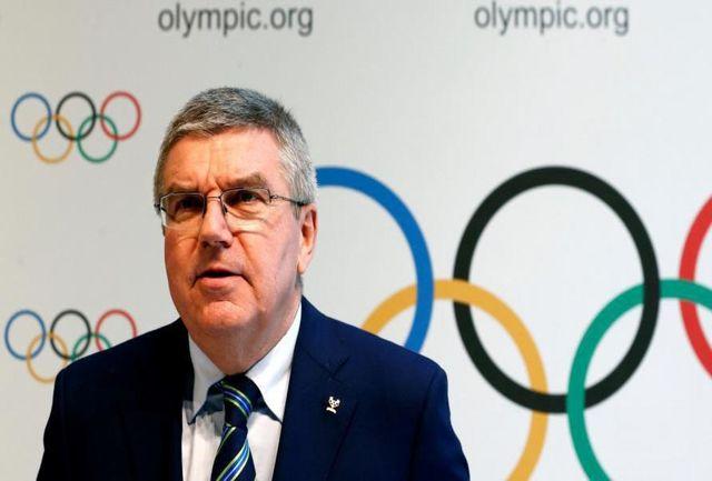 باخ به برگزاری المپیک توکیو تاکید کرد