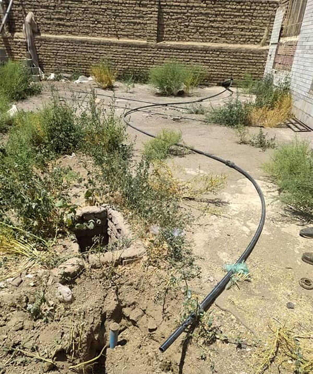 شناسایی و قطع انشعابات غیر مجاز در روستاهای شهرستان خوی