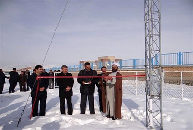 همزمان با دهه فجر بهره برداری از ۲ پروژه هواشناسی در آذربایجان غربی