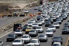 ترافیک نیمه سنگین در جادههای قزوین