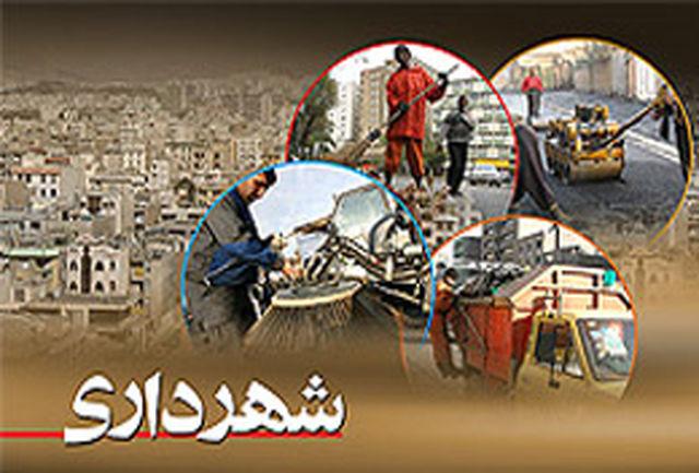 جمع آوری تابلوهای تبلیغاتی بدون مجوز در سطح شهر ارومیه