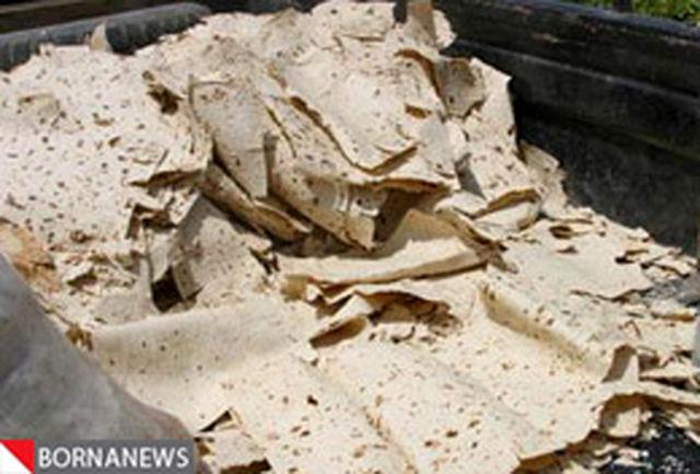 ضایعات نان و مصرف گندم کاهش یافت