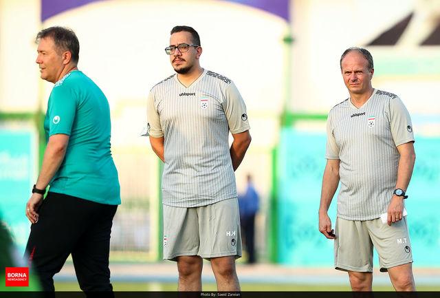 حضور وزیر ورزش در جمع ملی پوشان روحیه بخش است