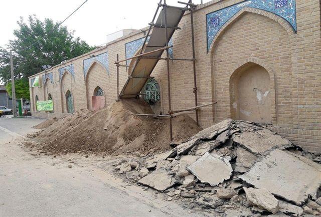 آغاز مرمت مسجد جامع شهرستان سرخه