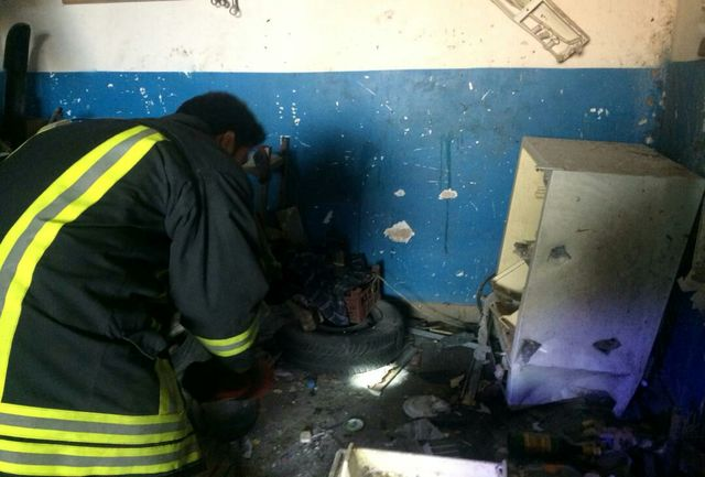 انفجار مرگبار کپسول گاز