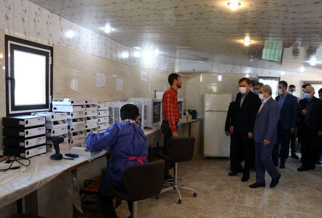 تولید دستگاه ضد ویروس و باکتری در گیلان