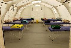 شرایط بحرانی کرونا در اراک پای نهادهای امدادی اجرایی و نظامی را به میان آورد