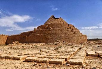 یخدان روستای لنگر کرمان