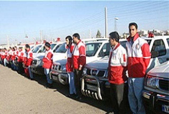 استقرار تیمهای تخصصی امداد و نجات در شعب جمعیت هلالاحمر