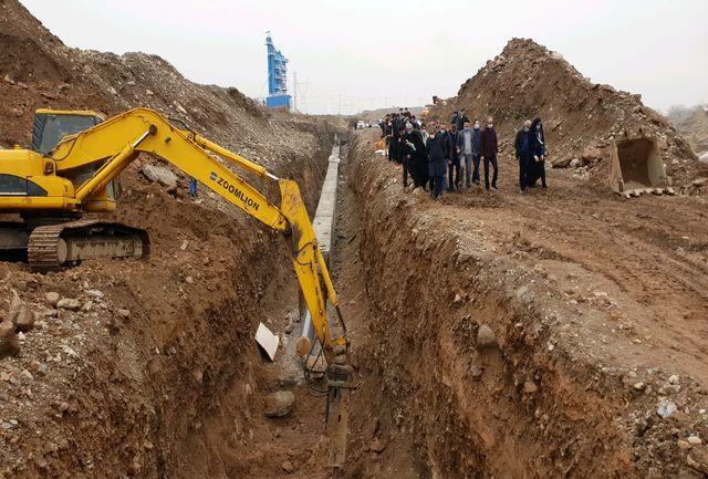 پروژه انتقال آب از سد طالقان به قزوین 45 درصد پیشرفت دارد