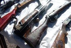 کشف ۳۳ قبضه سلاح شکاری و جنگی در ایلام
