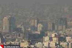 شرایط ناسالم هوای تهران