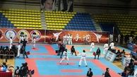 کاراته کاهای دختر استان در جمع برترین های ایران
