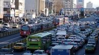 ترافیک صبحگاهی در اکثر معابر تهران/ جنوب به شمال چمران و نواب دارای ترافیک صبحگاهی
