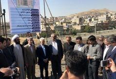 عملیات عمرانی پروژههای دانشگاه کردستان آغاز شد