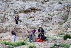 حزئیات سقوط مرد ۵۰ ساله از کوه صفه