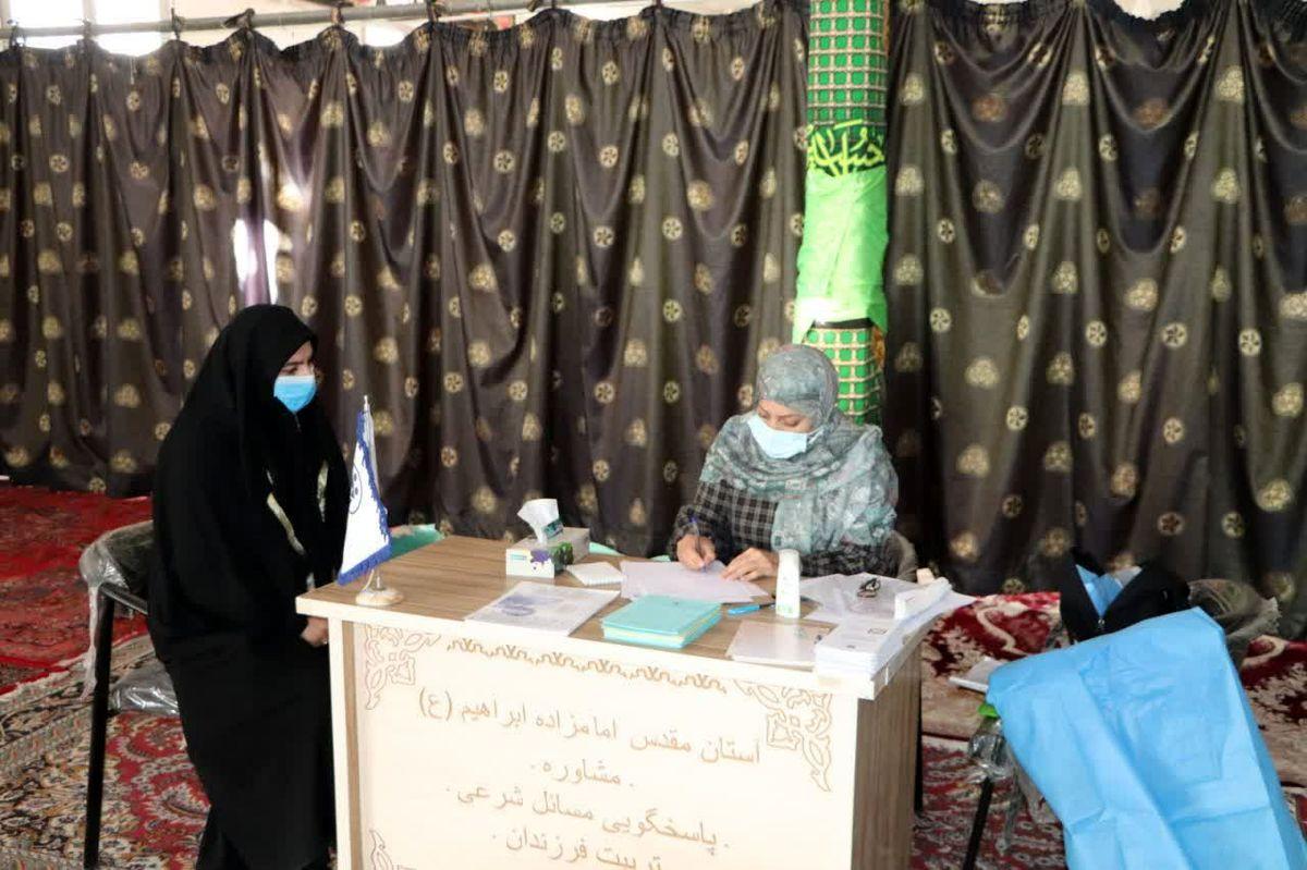 اجرای مرحله دوم طرح غربالگری سلامت زنان روستایی در قرچک