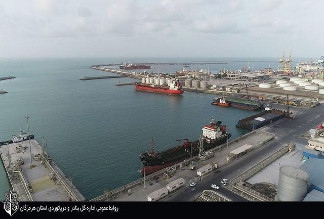 پهلو گیری 498 فروند کشتی حامل فرآورده های نفتی در  بندر خلیج فارس