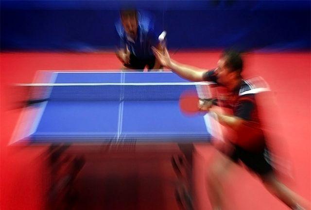 استراحت نوشاد در روز نخست/ رقابت دو پینگ باز ایرانی امروز برگزار میشود