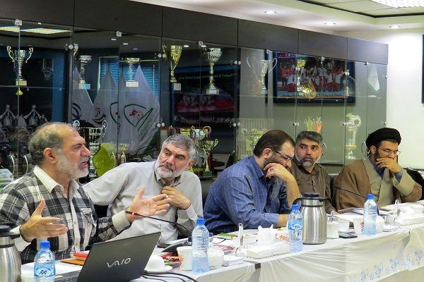 نشست بررسی راهبردهای بیانیه گام دوم انقلاب در جامعه ورزش برگزار شد