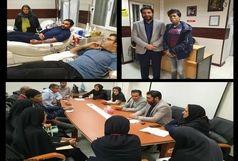 تشکیل کمپین اهدای خون در قشم