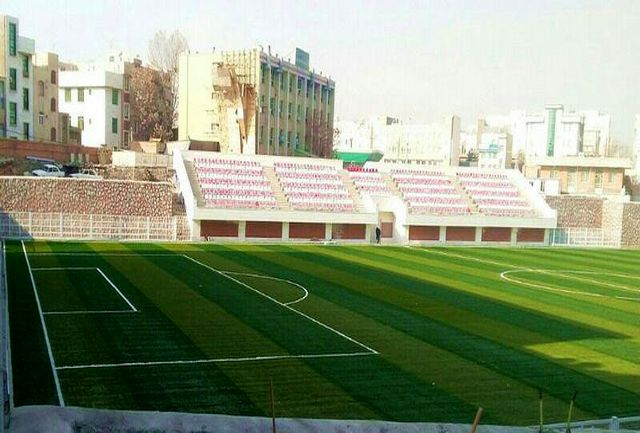 مراسم افتتاح استادیوم فوتبال رسالت (دیهیم) به تعویق افتاد