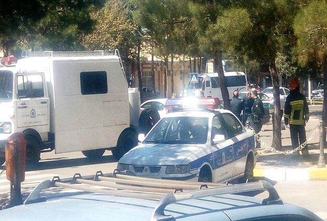 پیگیری بسته مشکوک در شهر محمدیه توسط پلیس قزوین