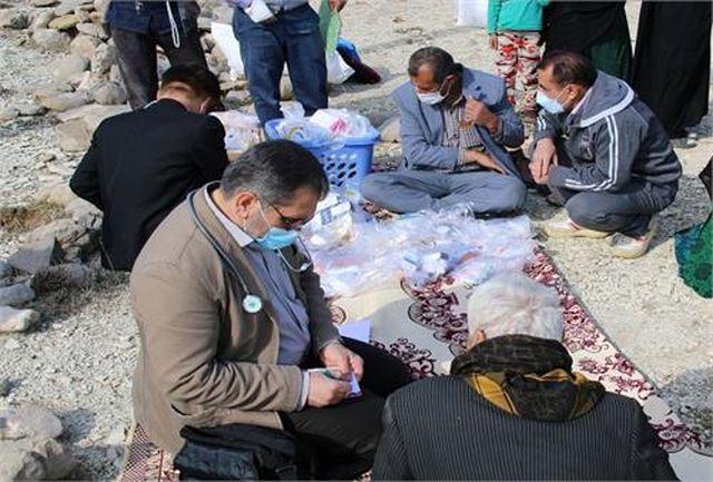 برپایی اردوی جهادی کمیته امداد کهگیلویه و بویراحمد در روستای دلی مهتاب